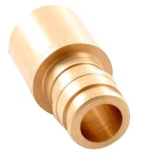 "Image UPONOR LF4502020  ADAPTATEUR MALE 2"" PROPEX X 2"" SOUDE LAITON"